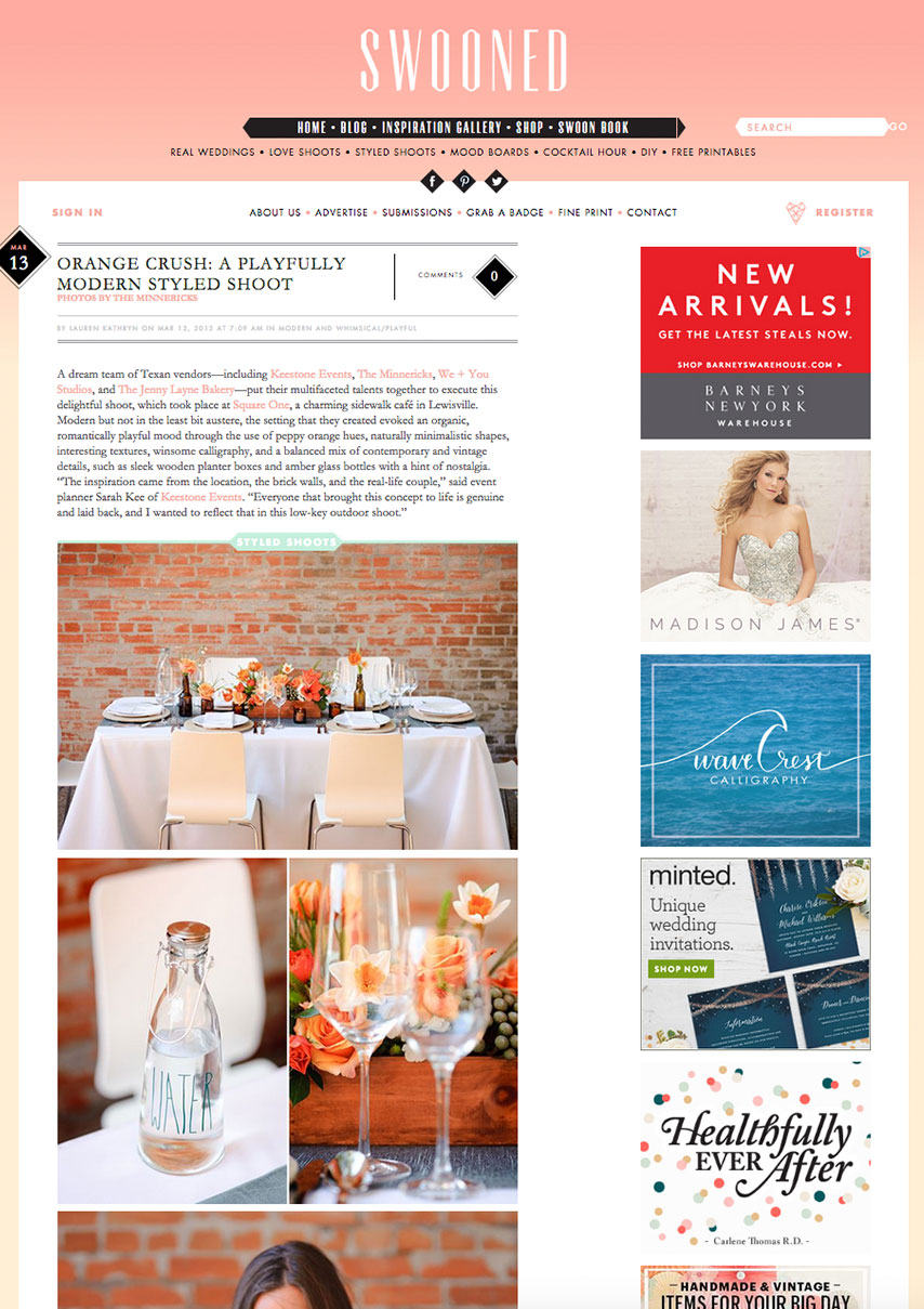 Dallas Wedding Planner