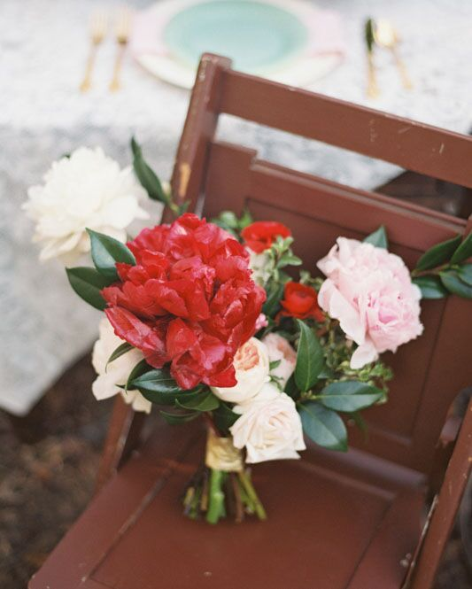 boquet-on-chair