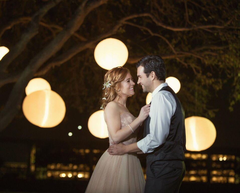 tangled-inspired-wedding-couple