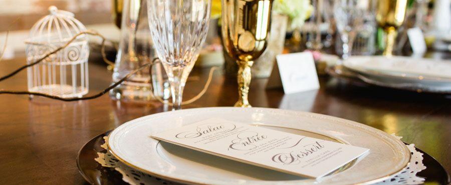 vitage-charm-menu-table