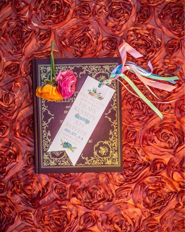 wedding-bookmark