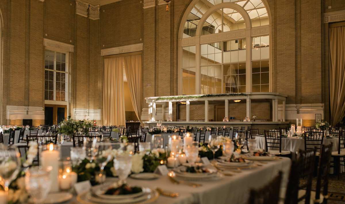 Classic Garden Wedding At Union Station Keestone Events