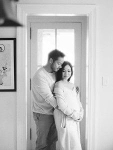 Minimal Maternity Shoot | Keestone Events