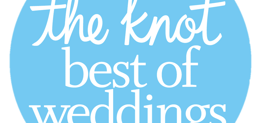 2019 Award from The Knot on winning Best of Weddings