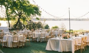 Outdoor Garden Wedding at the Dallas Arboretum